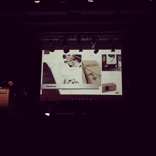 Anversus en los premios web Cantabria